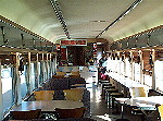 Interior of Spirit of the Outback train