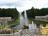 Grounds of Peterhof Palace