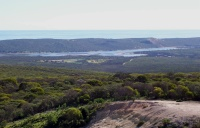 View near town of Kalbarri