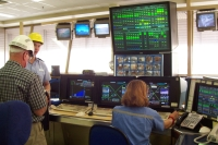 Control room at Argyle diamond extraction plant