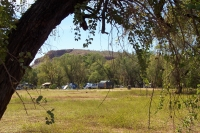 One of the camping areas at El Questro