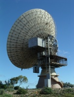 Satellite tracking station at Carnarvon